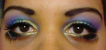 Carnival Makeup Eyes by FoxFeatherJazz
