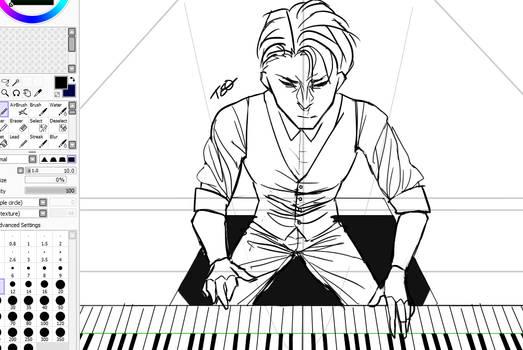 wip - Piano Man