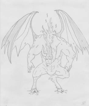 Demon from hell