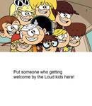The Loud kids welcome a blank meme