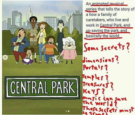 A secret in Central Park?