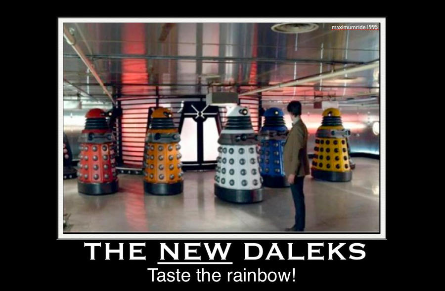 The New Daleks by maximumride1995