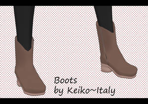 .: Boots by Keiko ~ Italy :.