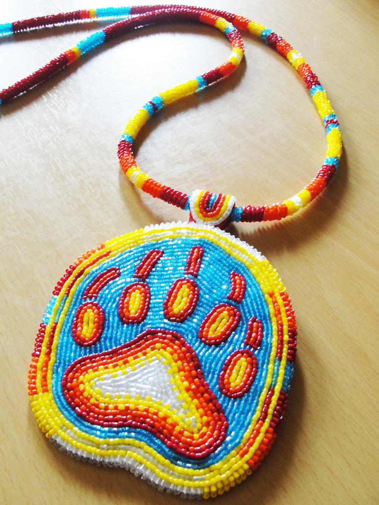 Bear Paw Medallion by Denial616 on DeviantArt