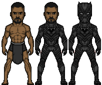 black panther -(T'Challa) by josediogo3333