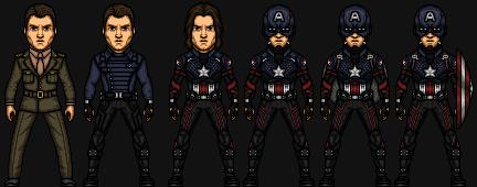 Captain America II (Earth-1) by josediogo3333