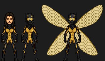 Wasp (Marvel Cinematic Universe) by josediogo3333