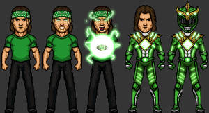 Power Rangers! Tommy Oliver