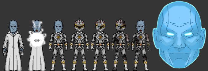 Power Rangers! Zordon