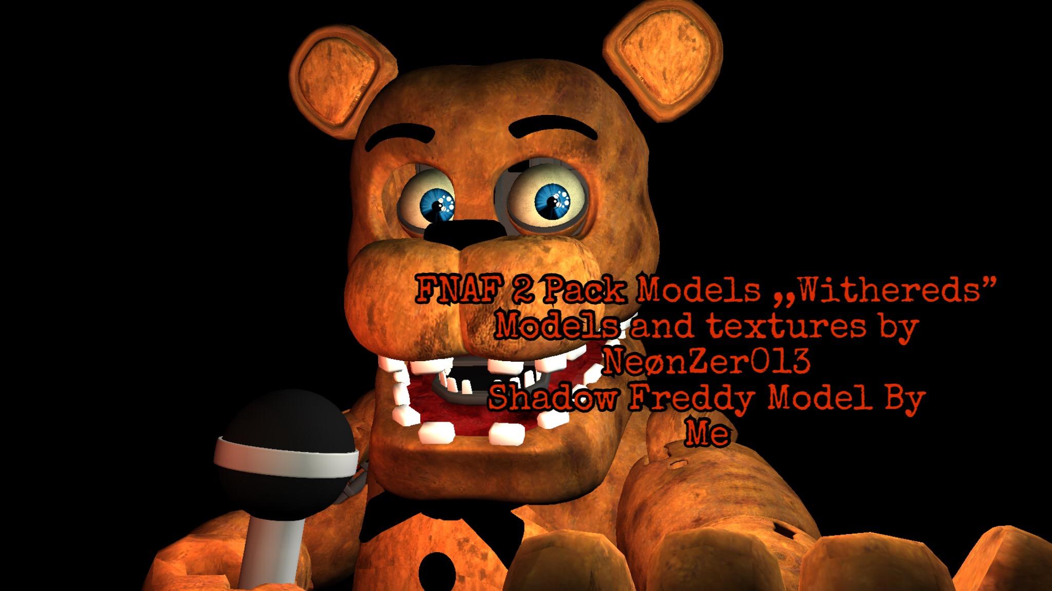 FNAF 2 Pack Models (FBX) by BonnieXeR on DeviantArt