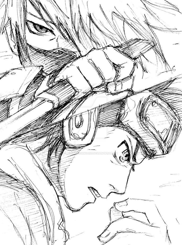 Kakashi+Obito by Winterborn17187
