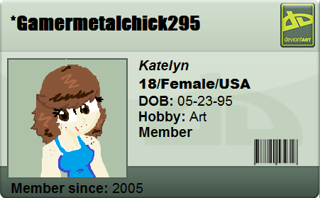 GamerMetalChick295's Profile Picture