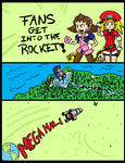MM FANS GET INTO THE ROCKET
