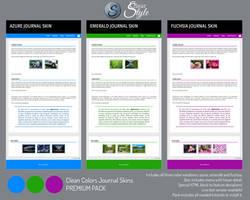 Clean Colors Journal Skin ~ Premium