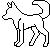 Wolf Icon Tempalate 1 by KamiraWolfDemon