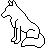 Wolf Icon Template 2 by KamiraWolfDemon