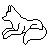 Wolf Icon Template 3 by KamiraWolfDemon