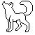 Wolf Icon Template 4 by KamiraWolfDemon