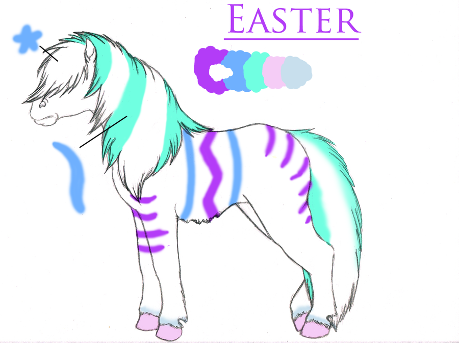 Easter Ref by KamiraWolfDemon