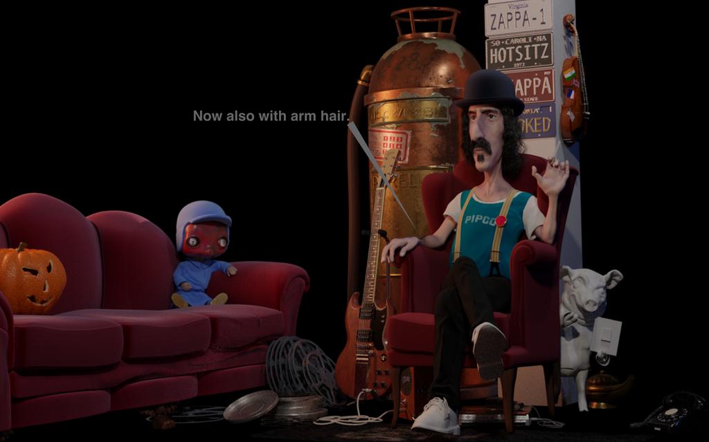 Working on: Frank Zappa by zombiwoof