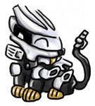 Mini Silver Liger Zero