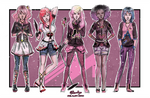 Modern Jem and the Holograms Sketch