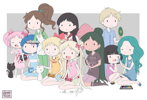 Senshi Slumber Party