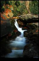 Cascade at Onoko by Mardonic
