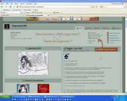 Mil pageviews by LuizRaffaello