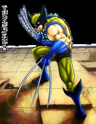 Wolverine - The Mutant by LuizRaffaello