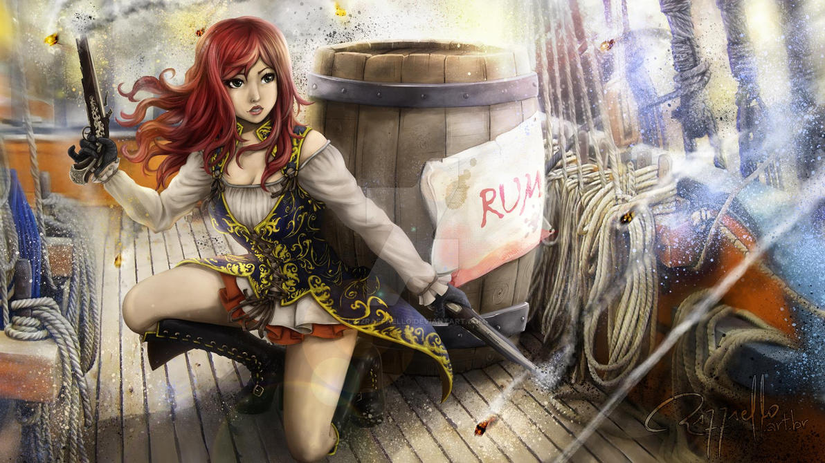 Natasha Scarlet by LuizRaffaello