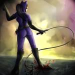 Catwoman by LuizRaffaello