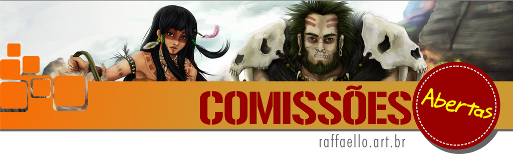 Commissions Open-00 by LuizRaffaello