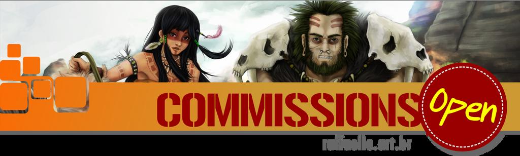 Commissions Open-05 by LuizRaffaello