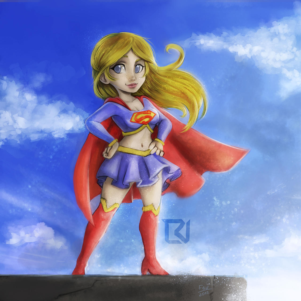 Supergirl by LuizRaffaello