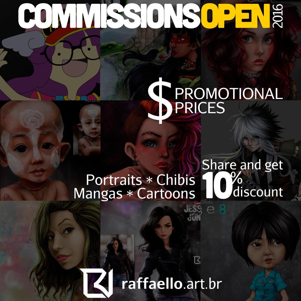 Commissions Open by LuizRaffaello