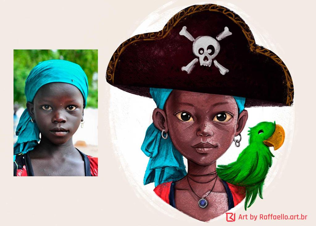 Pirate-girl2 by LuizRaffaello