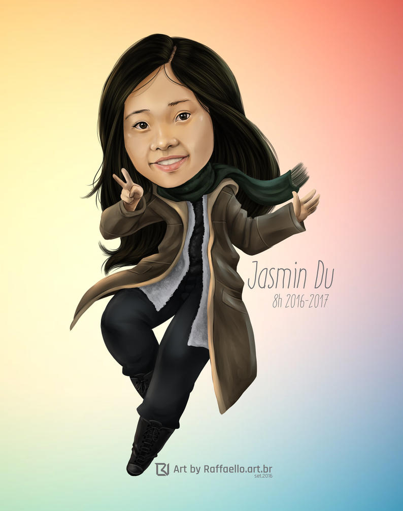 Jasmin Du by LuizRaffaello