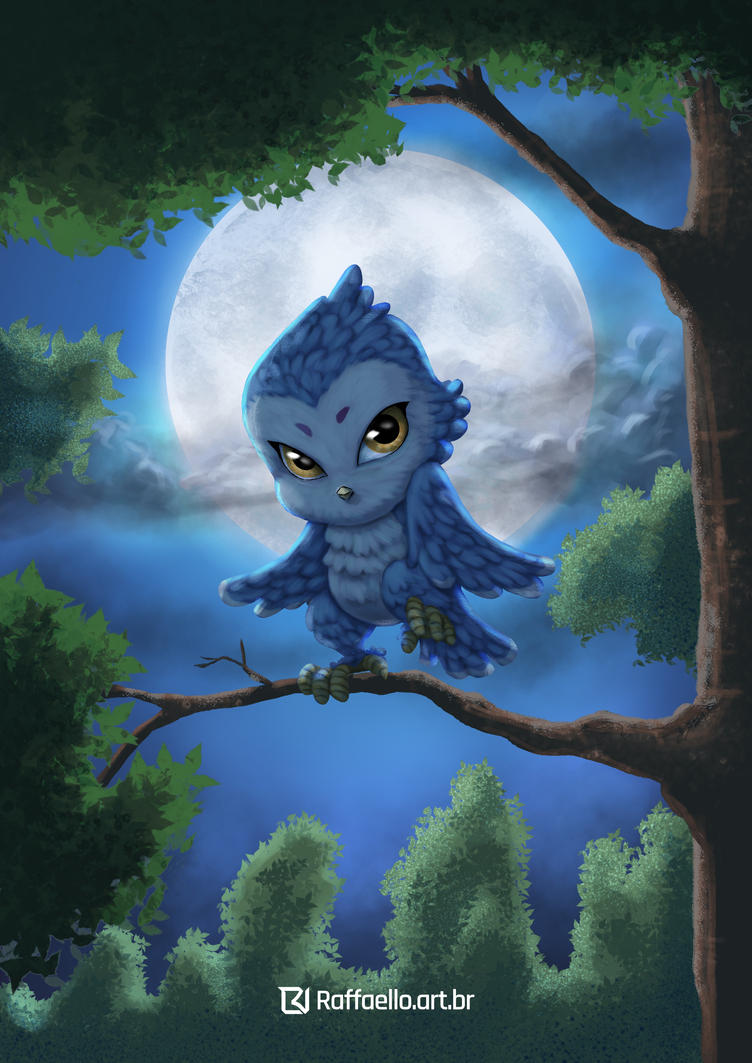 Little Owl by LuizRaffaello