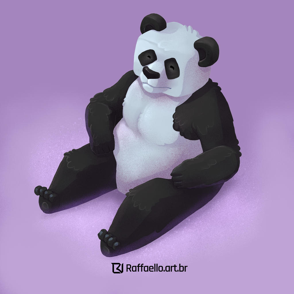 Panda by LuizRaffaello