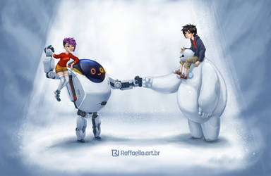 NextGen and Big Hero 6 by LuizRaffaello