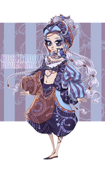 [OPEN] ADOPTABLE - BLUE JAY by HoshiAdopts