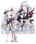 [CLOSED] AUCTION ADOPTABLE - MARINE WARRIOR