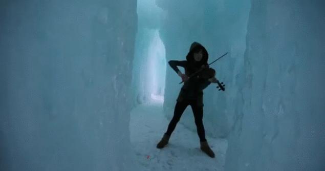 Lindsey Stirling - Crystallize - GIF by evilpokejuggalette