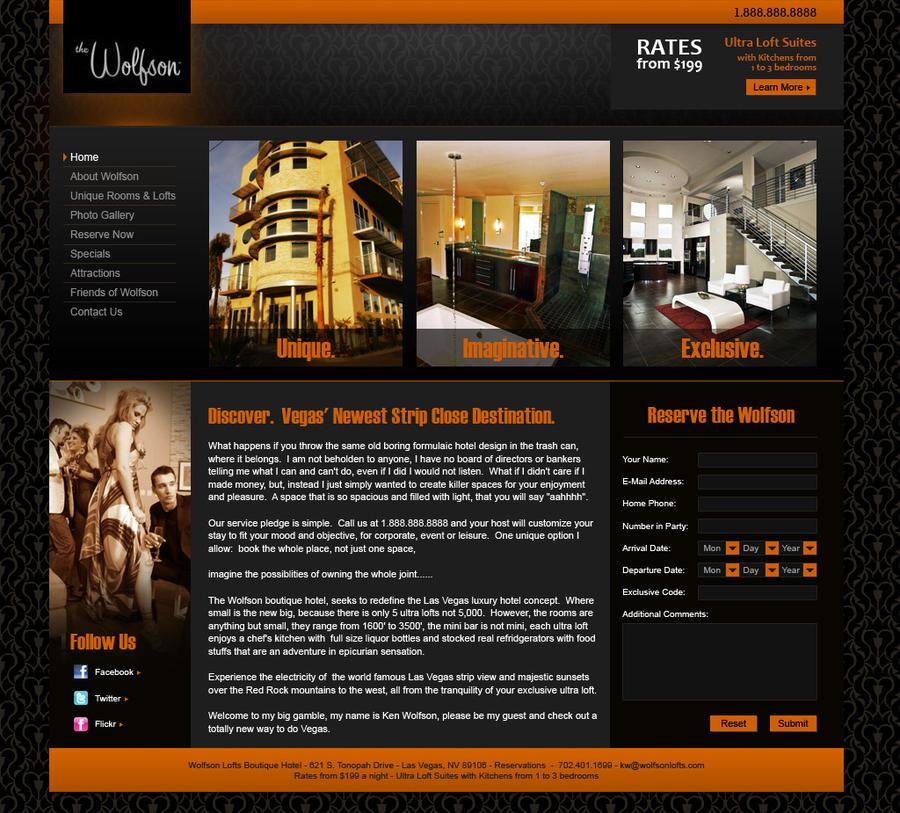 Wolfson Lofts Website Render by DanBergundy