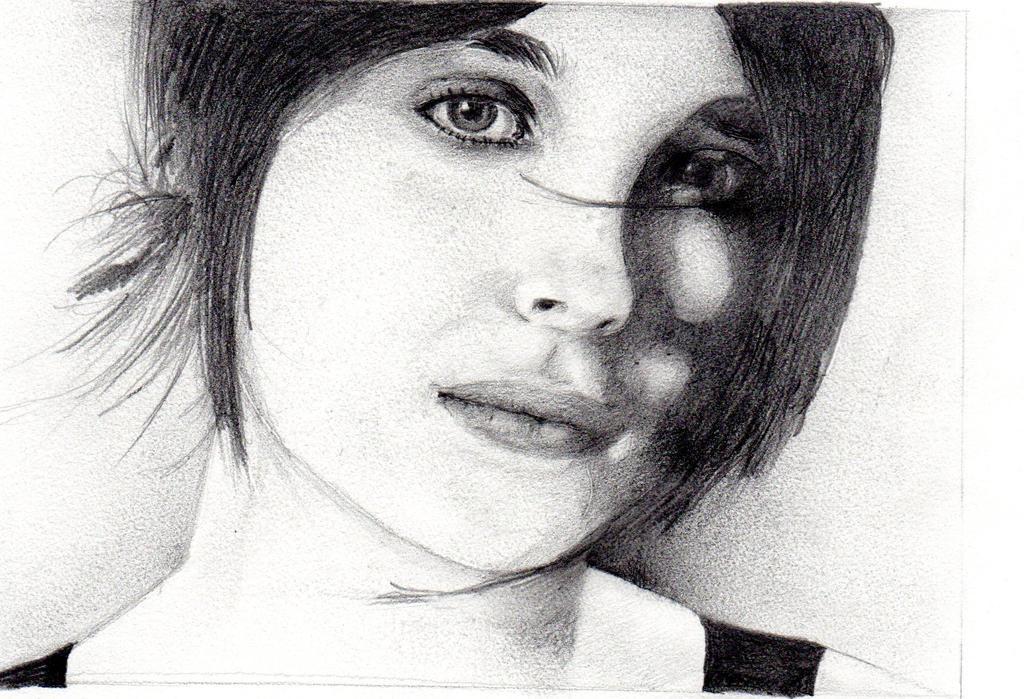 Ellen Page by elbiro