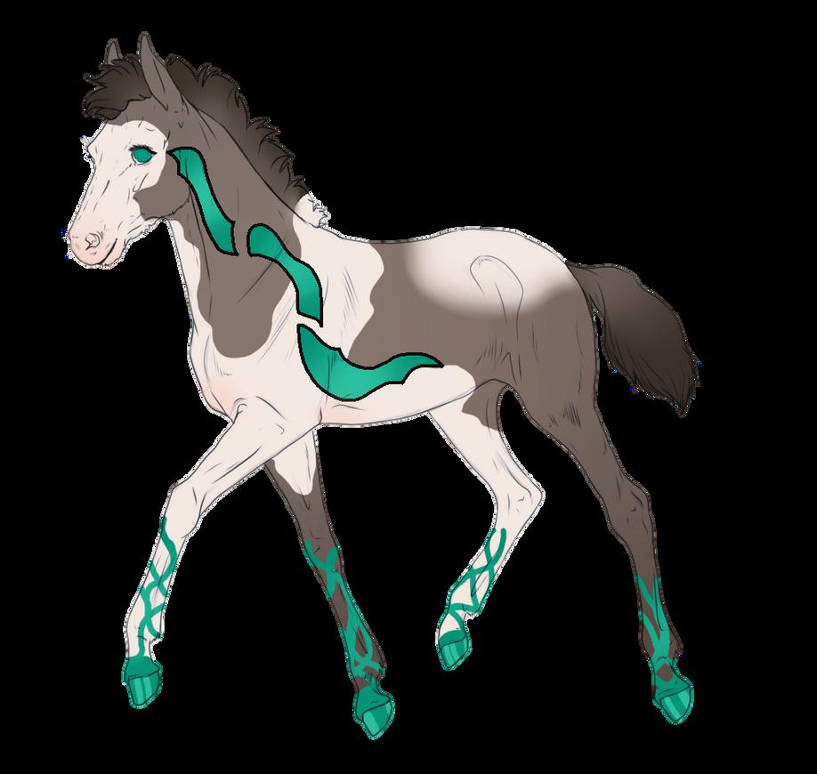 4657 - Foal Design for Onixfia by Feya-san