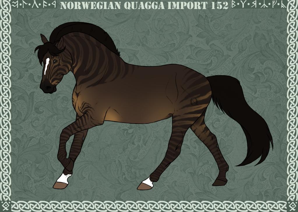 Norwegian Quagga | Import | #152 by Feya-san