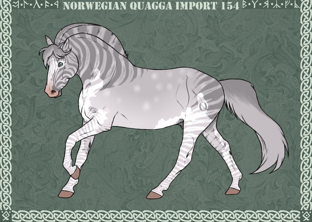 Norwegian Quagga | Import | #154 by Feya-san