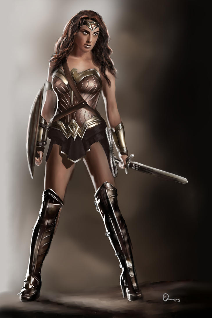 Wonder Woman Gal Gadot Batman Vs Superman Digital By -5423